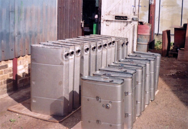 T-type and MGA fuel tanks