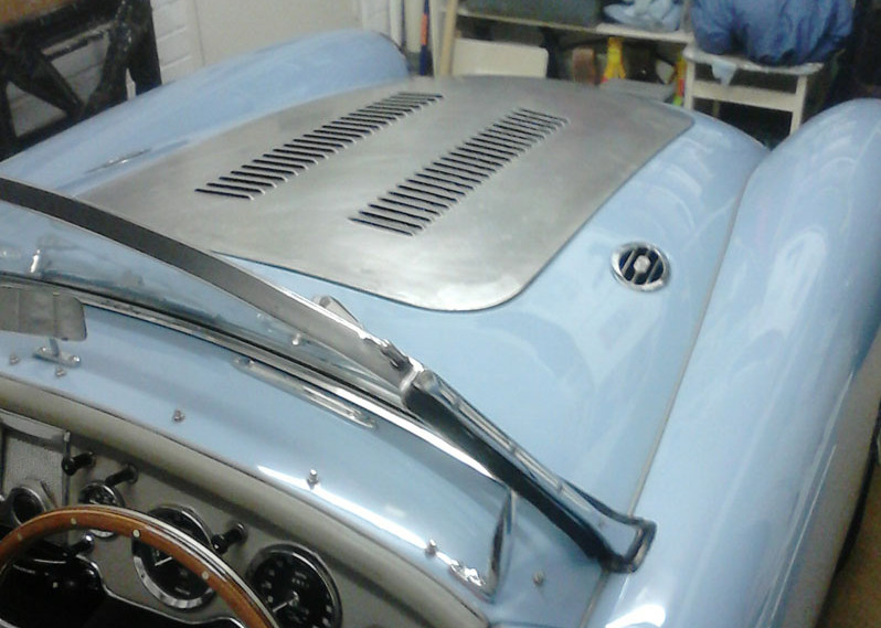 Bonnet Louvres | Sports Car Metal Works
