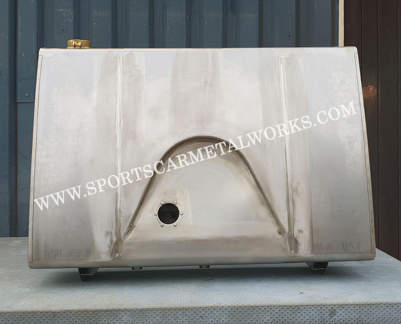 TC Fuel Tank in stainless steel<br />