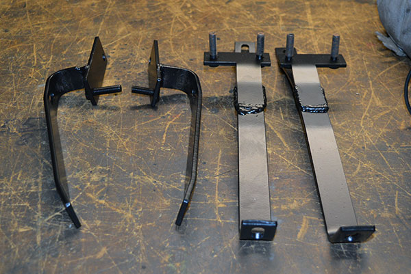 MGB Rubber bumper to Chrome bumper conversion brackets