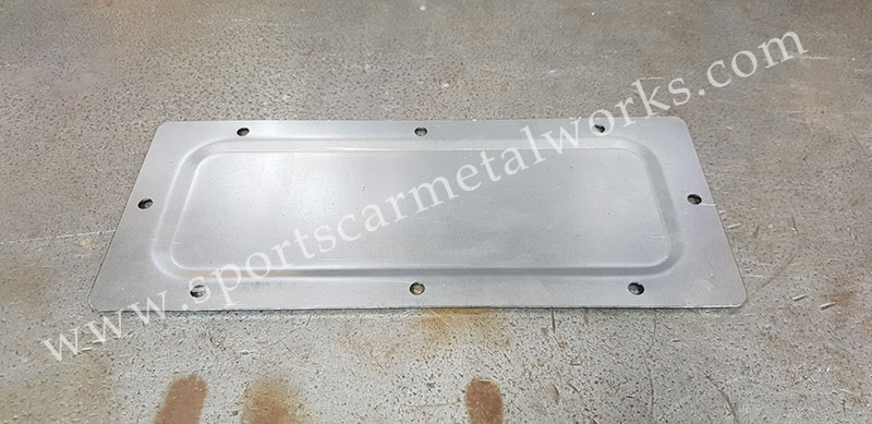 Heater aperture cover plate